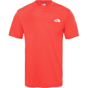 The North Face Reaxion Ampere Crew Shirt Men TNF red heather